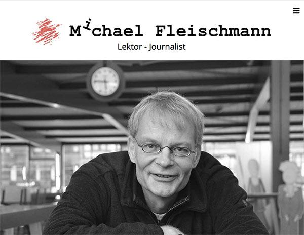 Referenz Michael Fleischmann - Lektor und Journalist aus Burgdorf